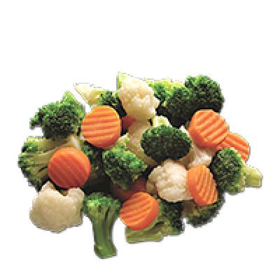 Овощи, овощные наггетсы, крокеты, смеси