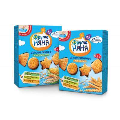 Детское печенье, фруктовые батончики