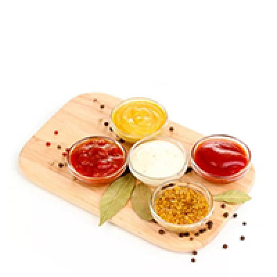Аджика, горчица, кетчупы, соусы, хрен