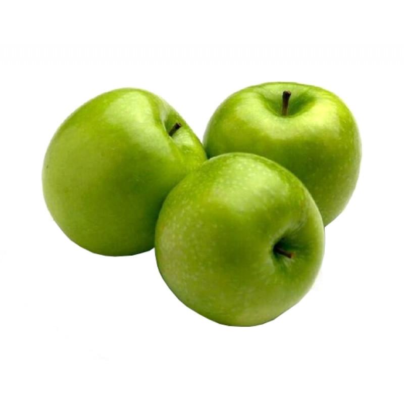 Яблоки зеленые свежие весовые Семеренко, средний вес 1, 2 кг