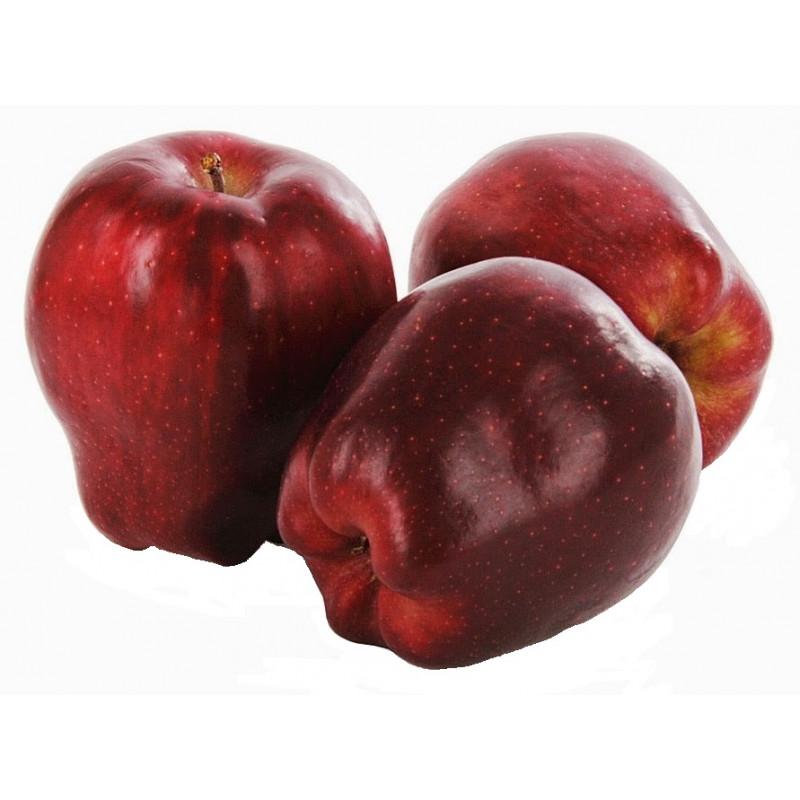 Яблоки Ред Делишес красные свежие весовые, средний вес 1, 2 кг