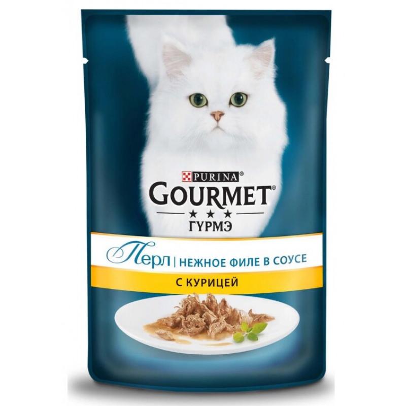 Консервы для кошек Purina Gourmet Perle, курица, 85 г