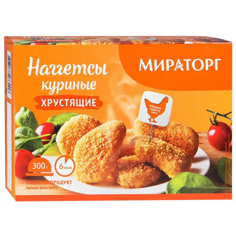 Наггетсы куриные хрустящие Мираторг, 300гр