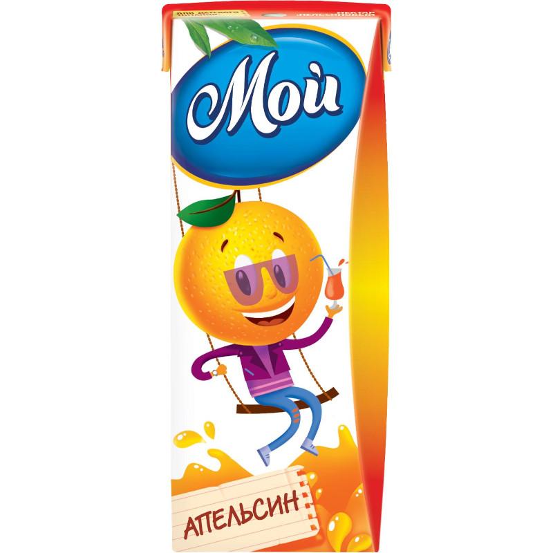 """Нектар """" Мой """" Апельсиновый для детей с 12 месяцев, 0, 2л"""