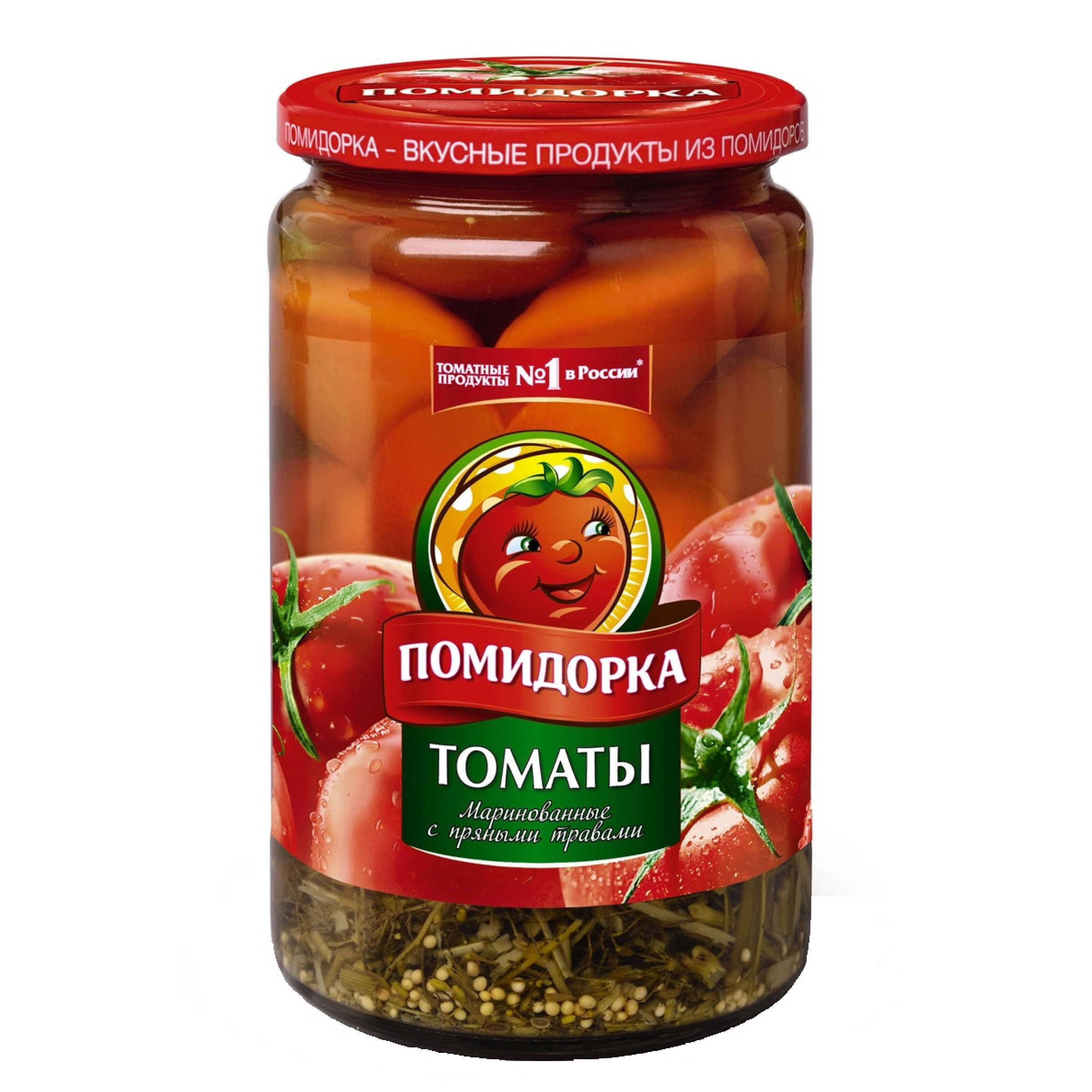 """Томаты маринованные """" Помидорка """", 720гр"""