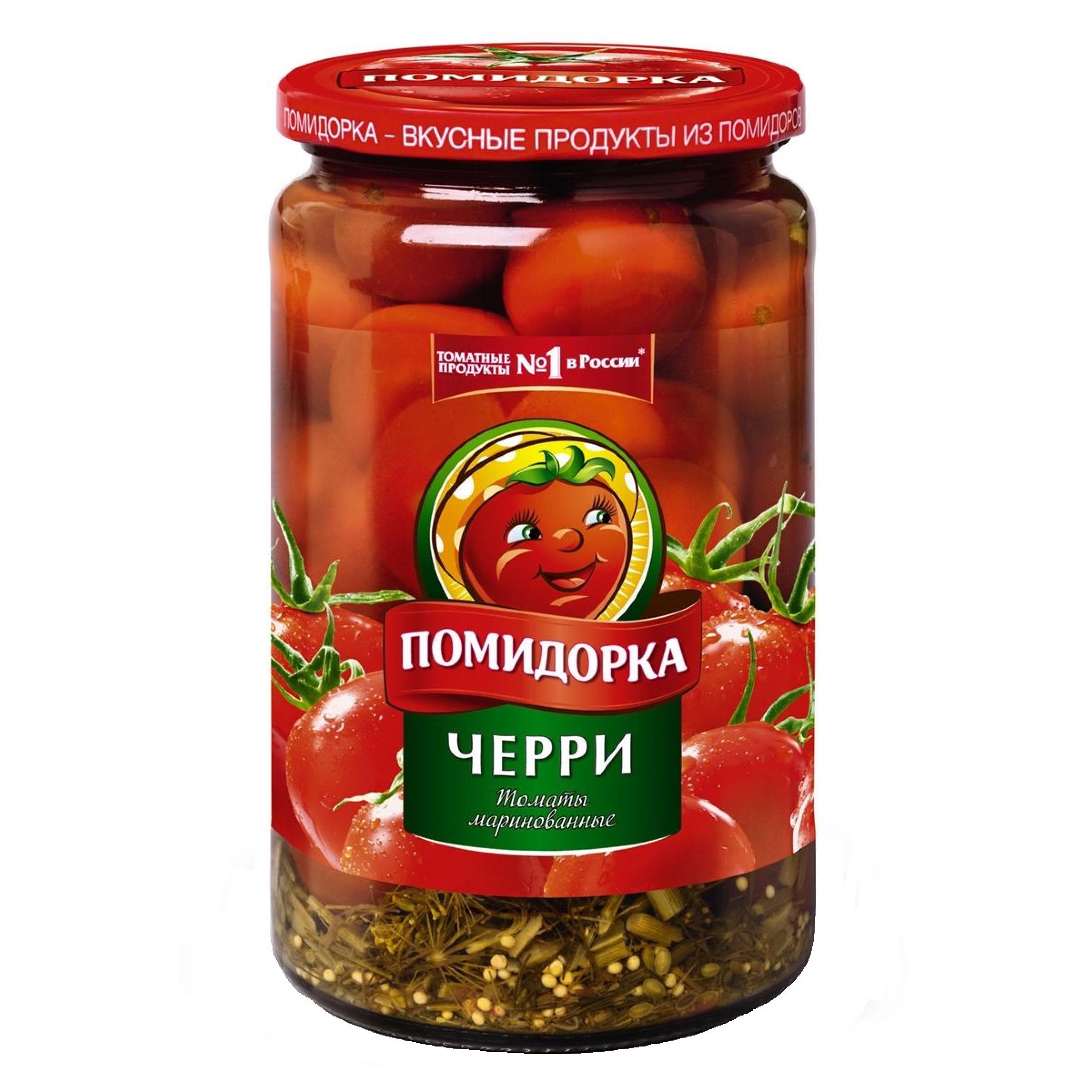 """Томаты маринованные Черри """"Помидорка"""", 720гр"""
