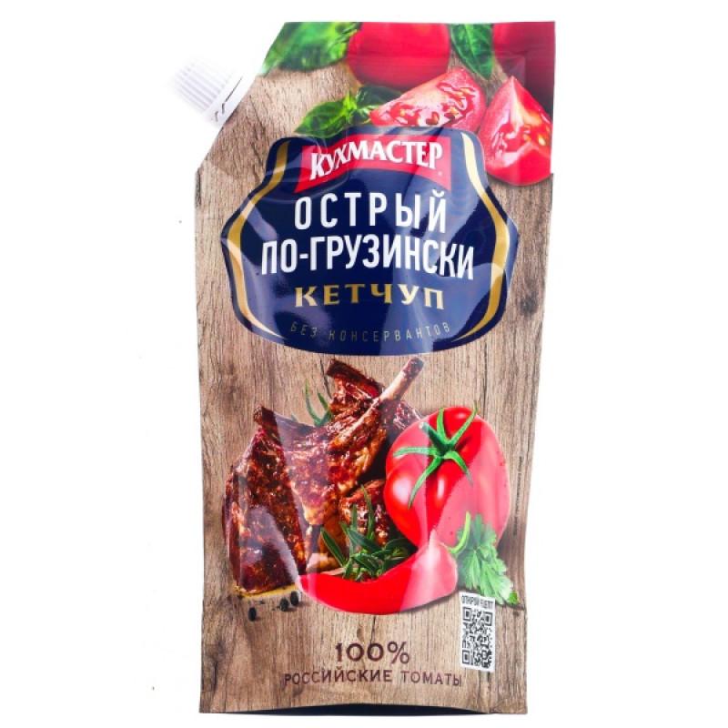 "Кетчуп Кухмастер "" Острый по - грузински "", 260гр"