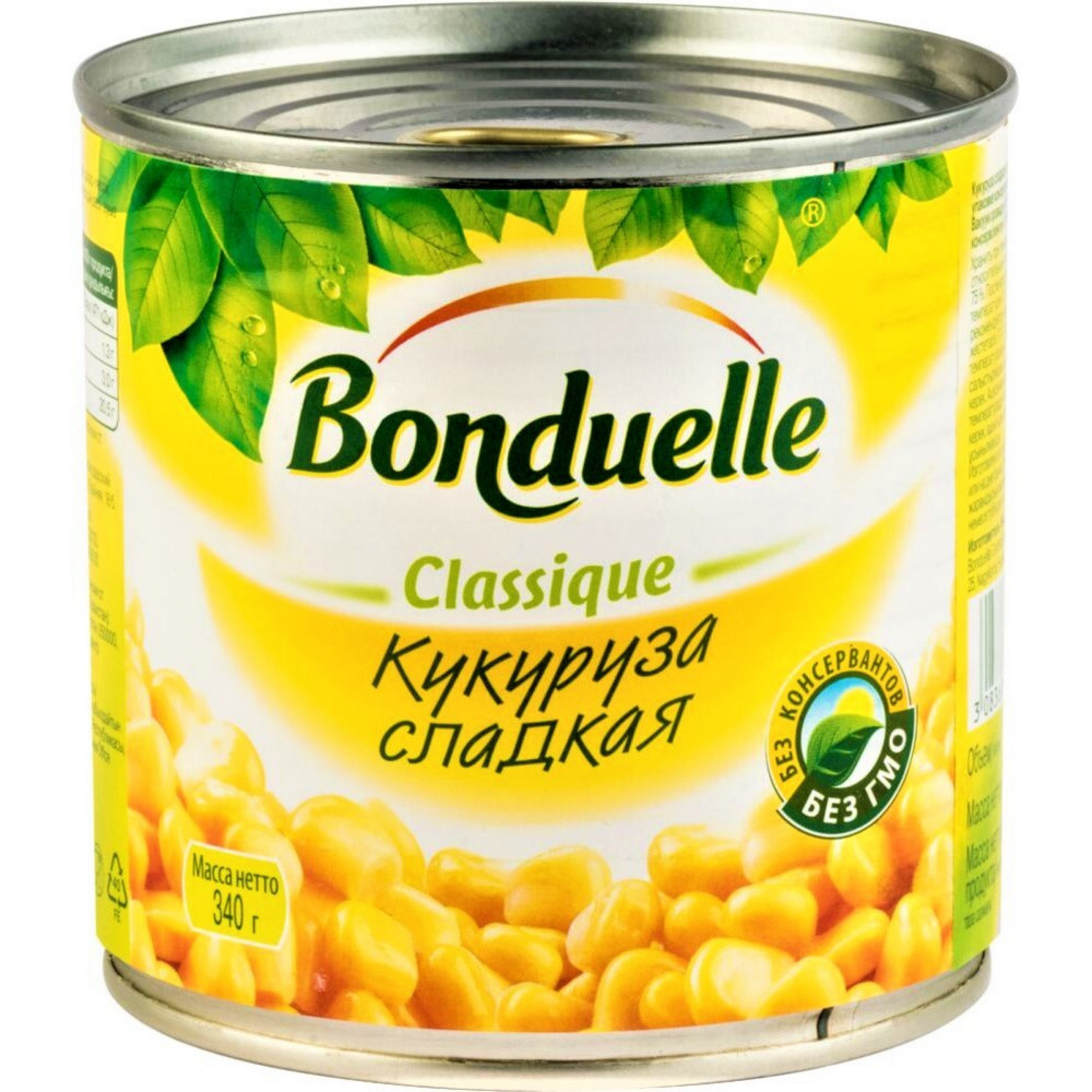 Кукуруза Бондюэль сладкая в зернах, 340гр