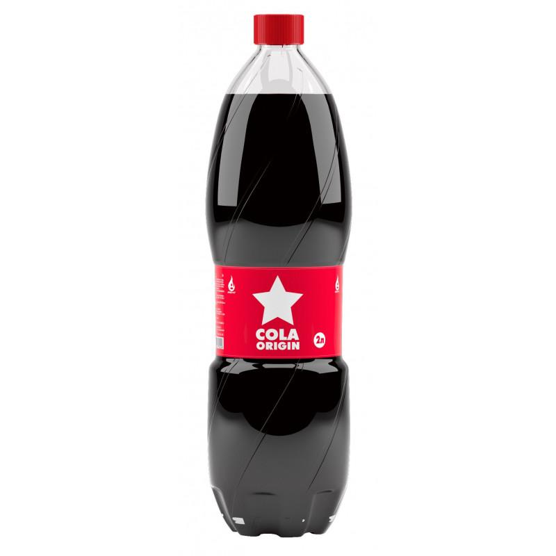 """Напиток сильногазированный """" COLA ORIGIN"""" 2 л"""
