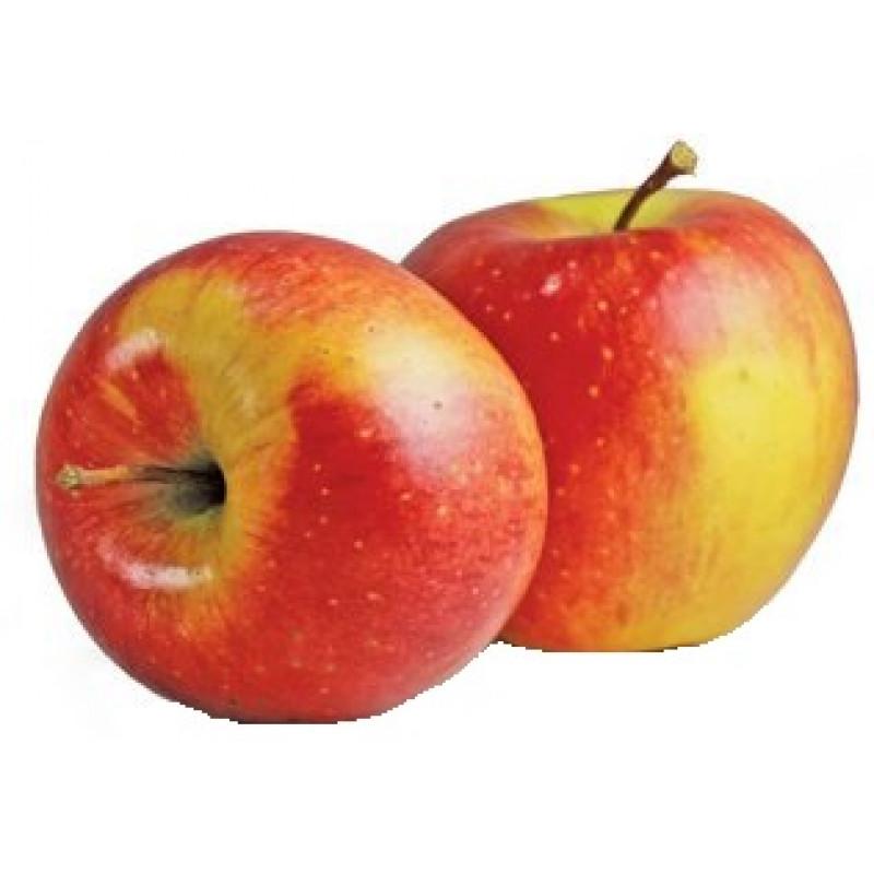 Яблоки красно-желтые свежие весовые Фуджи, средний вес 1, 2 кг
