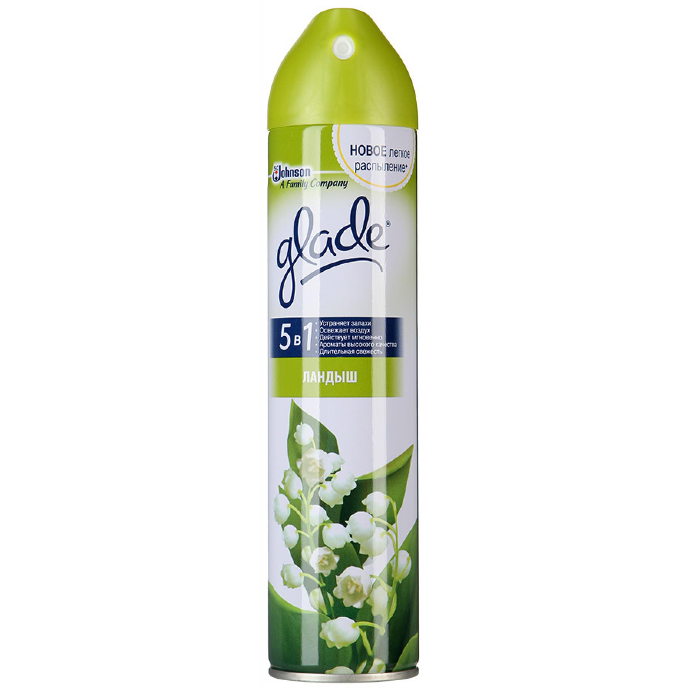 Освежитель воздуха GLADE Ландыш 5в1, 300мл