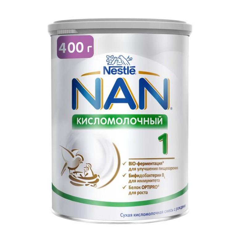 """Сухая смесь кисломолочная """"NAN 1"""", 400гр"""