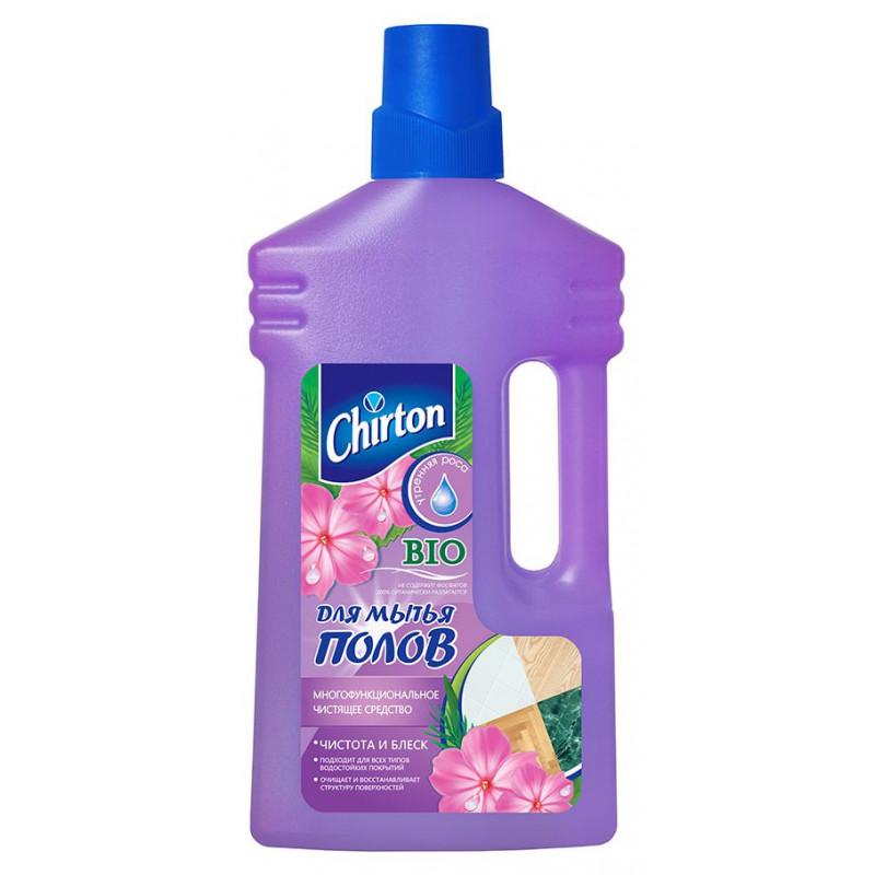 Средство чистящее CHIRTON для мытья полов Утренняя роса, 1000мл