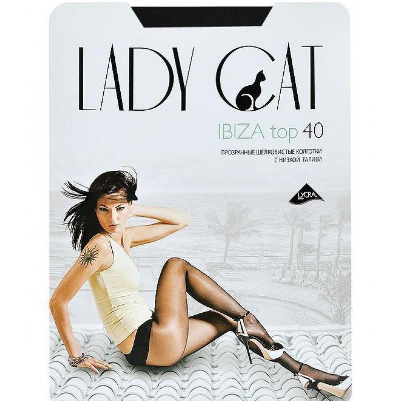 Колготки женские низкая талия Грация Ibiza 40den цвет черный 4 размер, 1шт