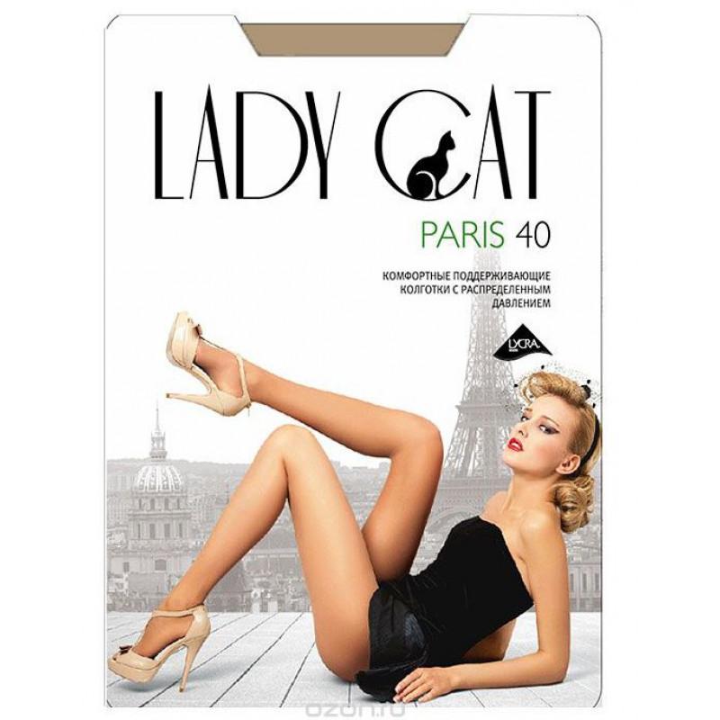 Колготки женские с поддерживающим эффектом Грация Paris 40den цвет кофе 2 размер, 1шт