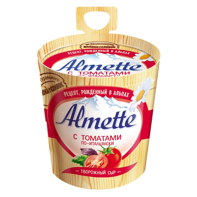 Сыр Almette творожный с томатом по-итальянски, 150гр
