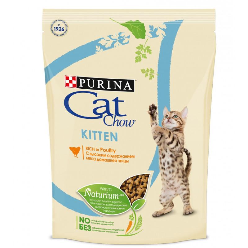 Сухой корм CAT CHOW Kitten курица, 400 гр