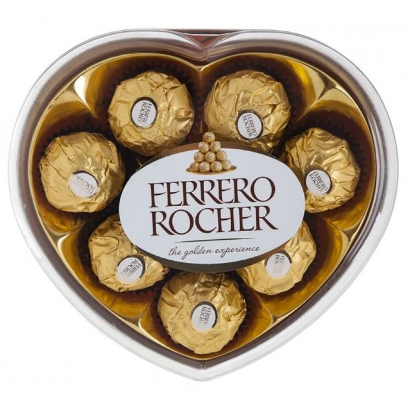 Шоколадный набор Ferrero Rocher, 100гр