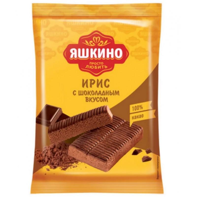 """Ирис """"Яшкино"""" с шоколадным вкусом, 140гр"""
