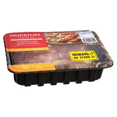 Колбаски свиные для гриля охлажденные, 400гр