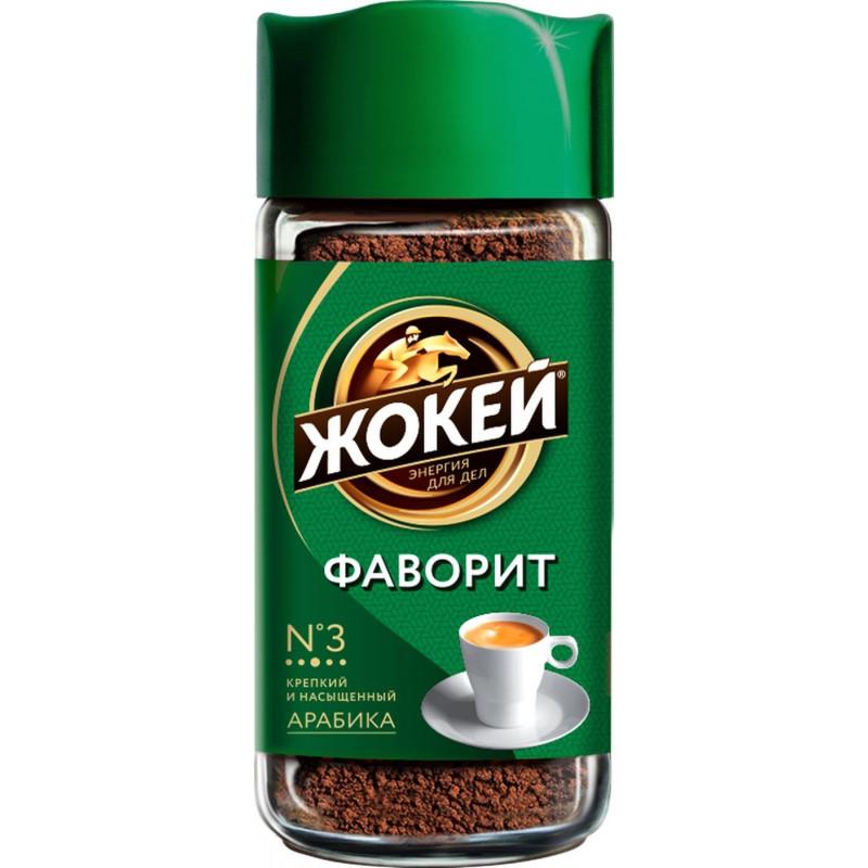 Кофе Жокей Фаворит растворимый сублимированный, 95гр