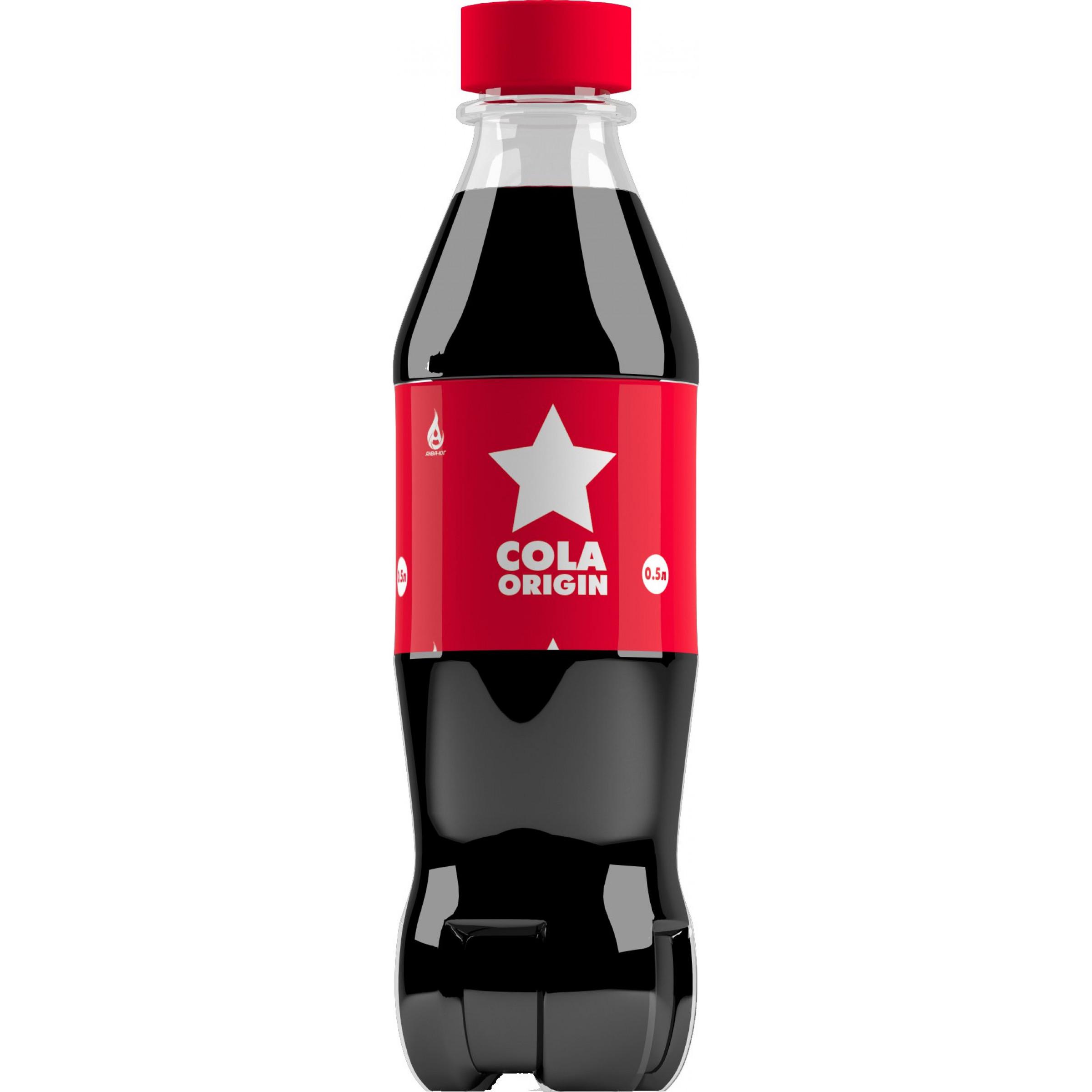 Напиток сильногазированный COLA ORIGIN, 0,5 л