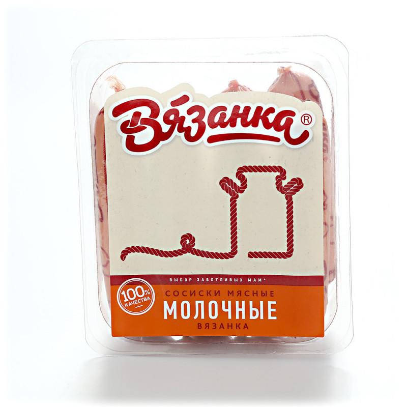 "Сосиски ""Молочные вязанка"" Вязанка, вес 450гр"
