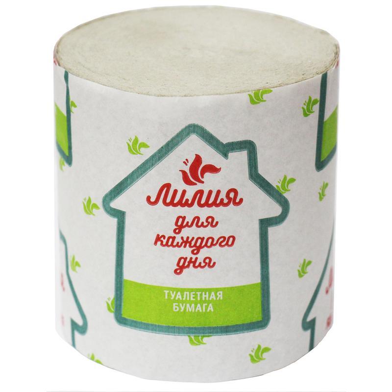 Туалетная бумага Лилия, 1шт