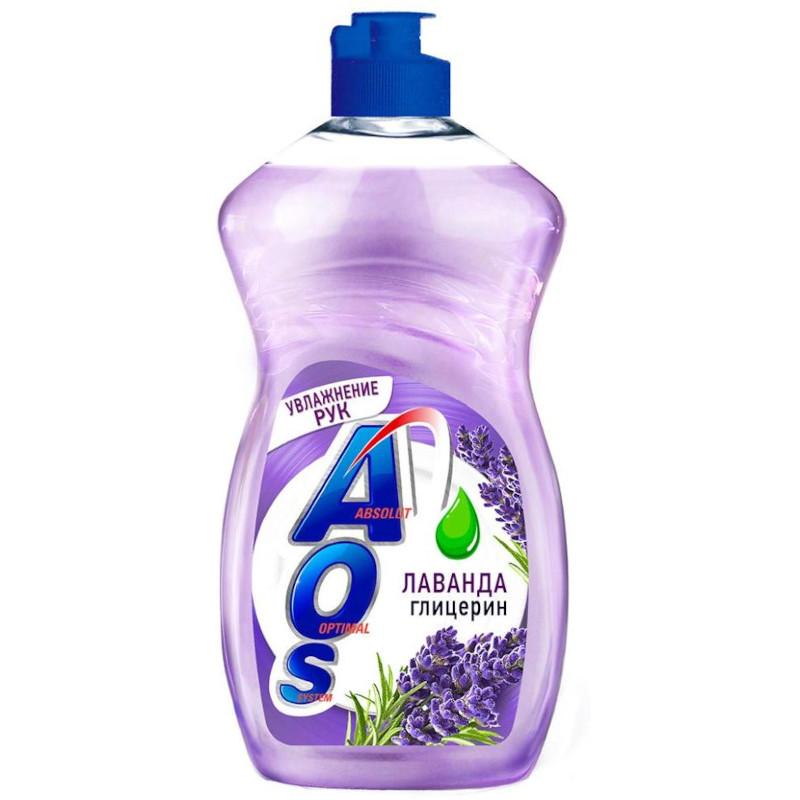 Средство для мытья посуды AOS Глицерин, 500мл