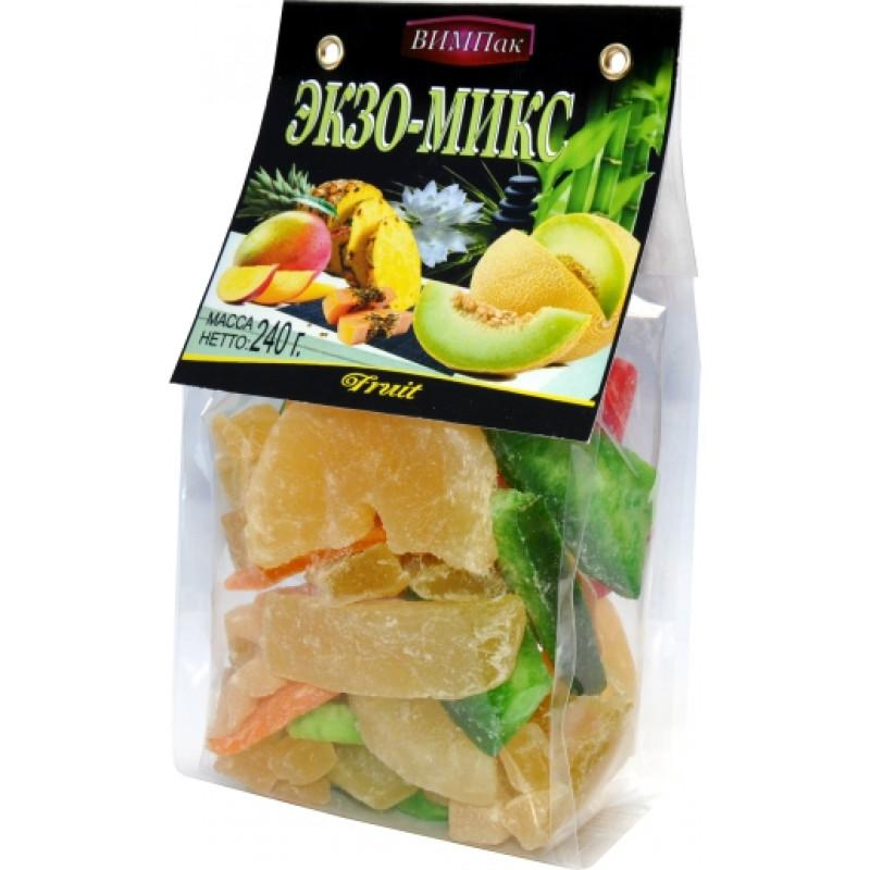 Экзо-микс (помело, манго, ананас, папайя) ВИМПак, 240гр