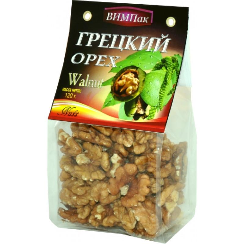 Грецкий орех ВИМПак, 120гр