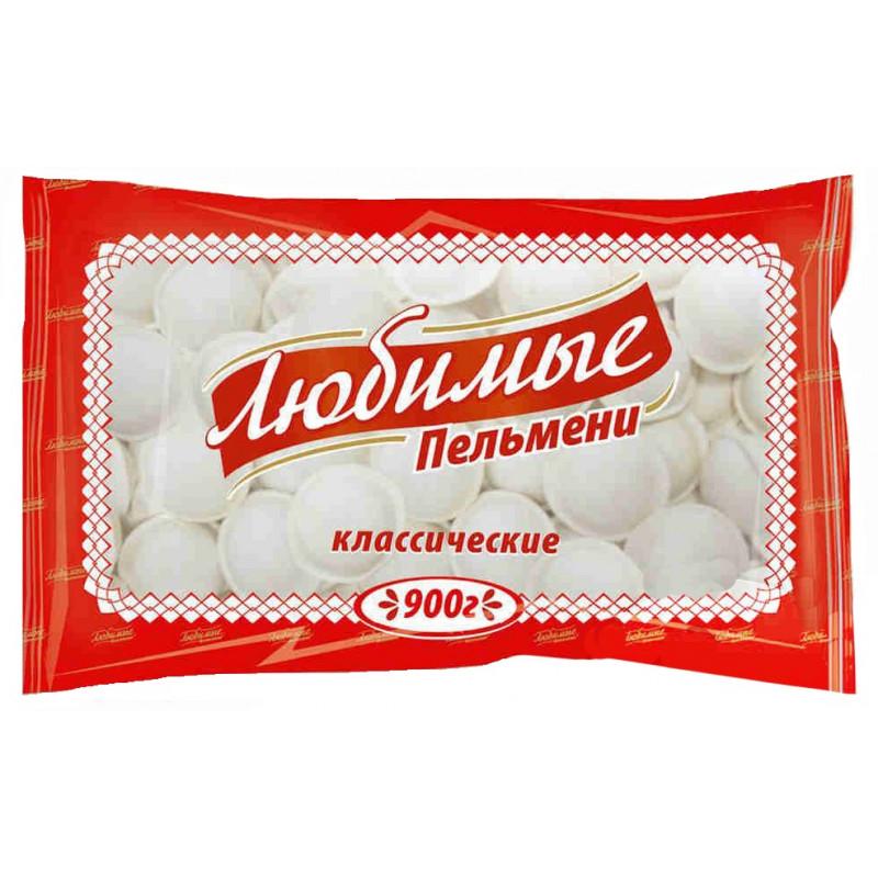 """Пельмени """"Любимые"""" Владимирский стандарт, 900гр"""