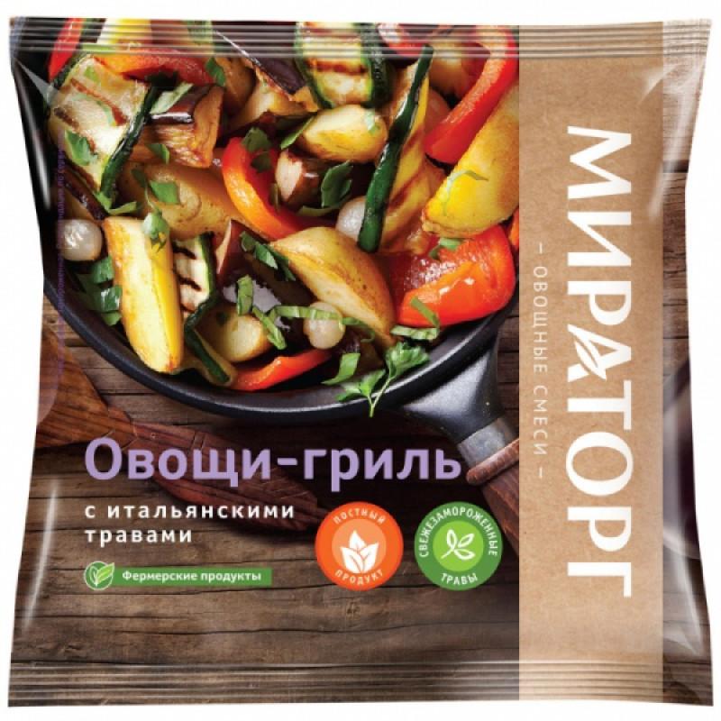 Овощи-гриль с итальянскими травами замороженные Vитамин, 400гр