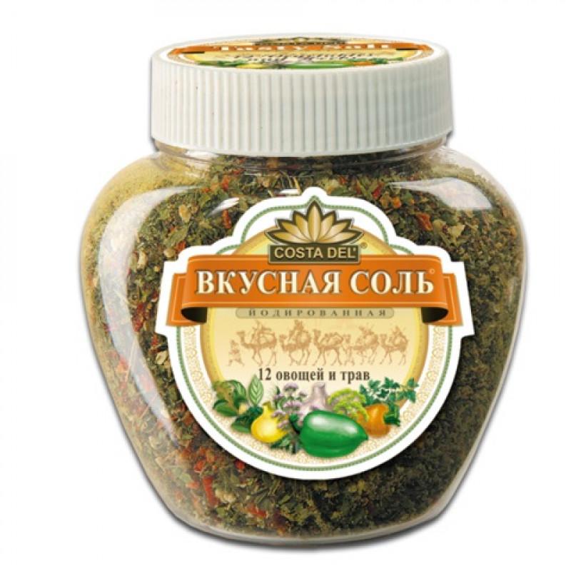 Вкусная соль 12 овощей и трав, 400гр