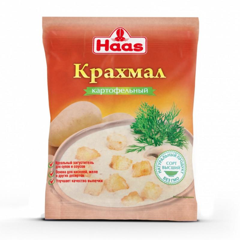 Крахмал картофельный Haas, 200гр