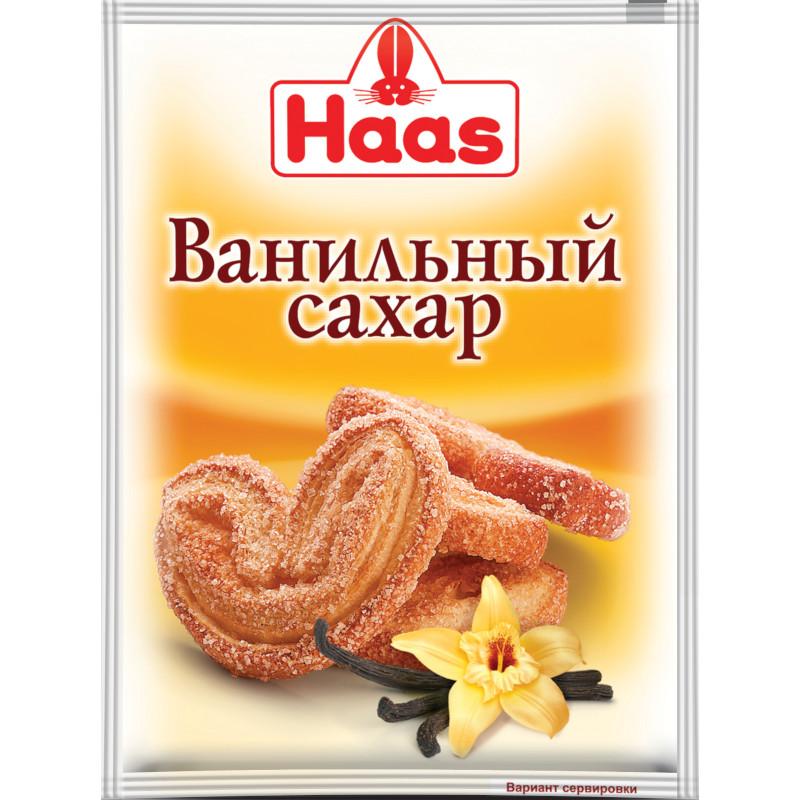 Сахар ванильный Haas, 12гр