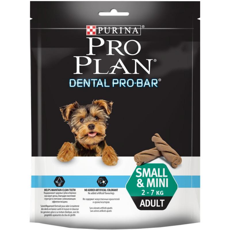 Лакомство для собак Purina Pro Plan Dental ProBar для поддержания здоровья полости рта, 150 гр