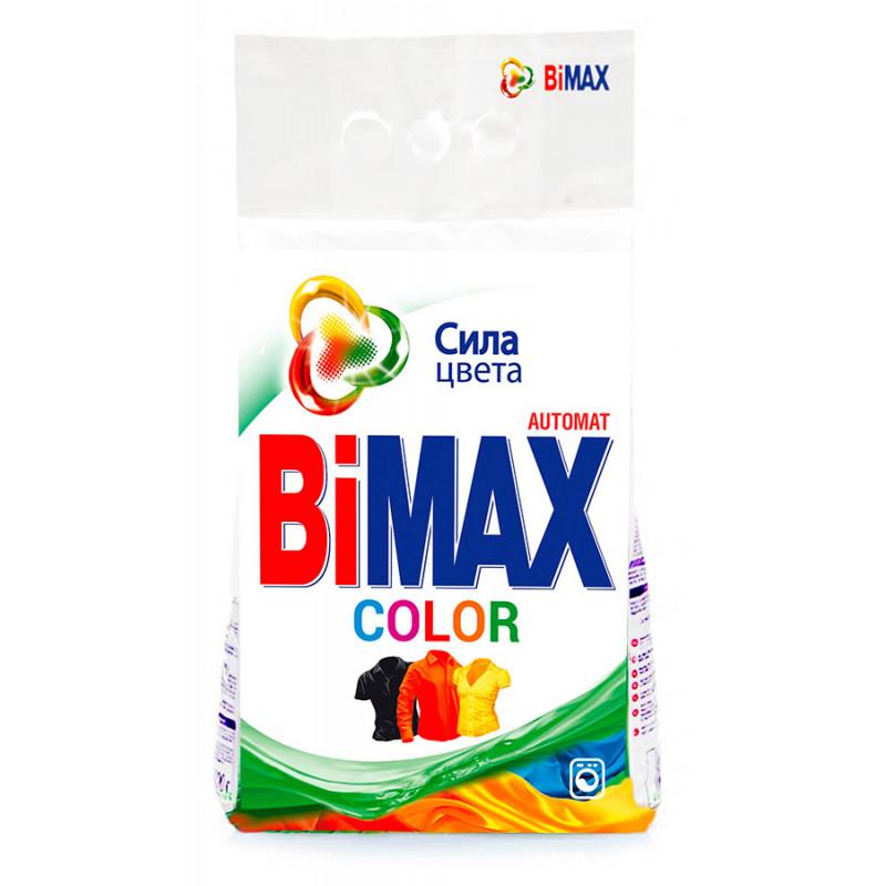 Стиральный порошок Bimax Color для цветных вещей автомат, 3 кг