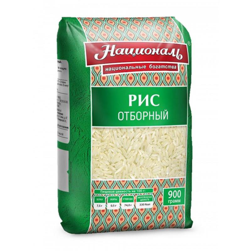 """Рис отборный """"Националь"""", 900гр"""
