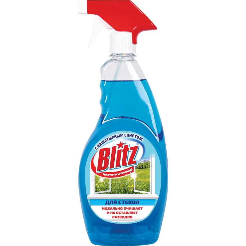 Средство для стекол Blitz с нашатырным спиртом, 750мл
