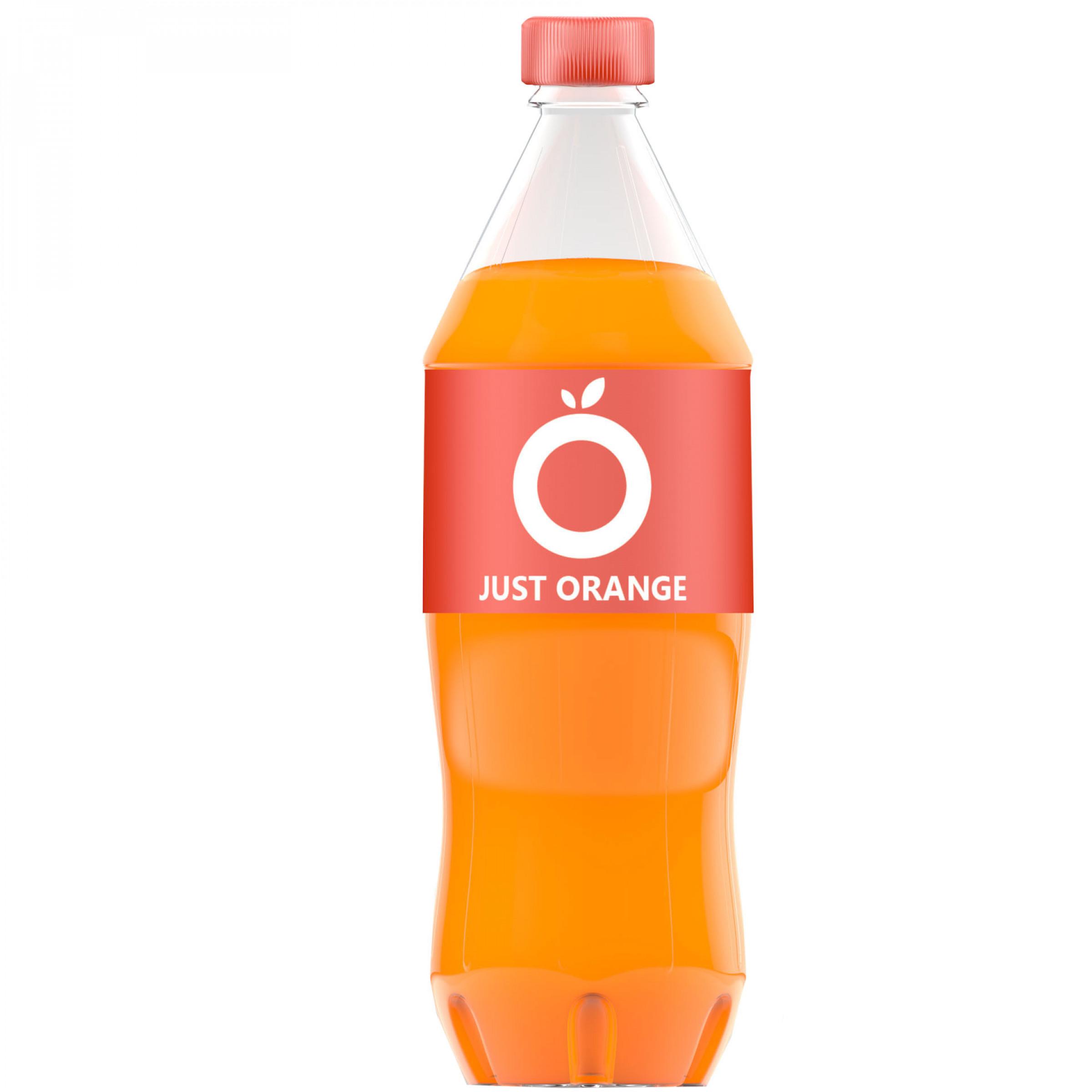 Напиток сильногазированный Апельсин JUST ORANGE, 2 л