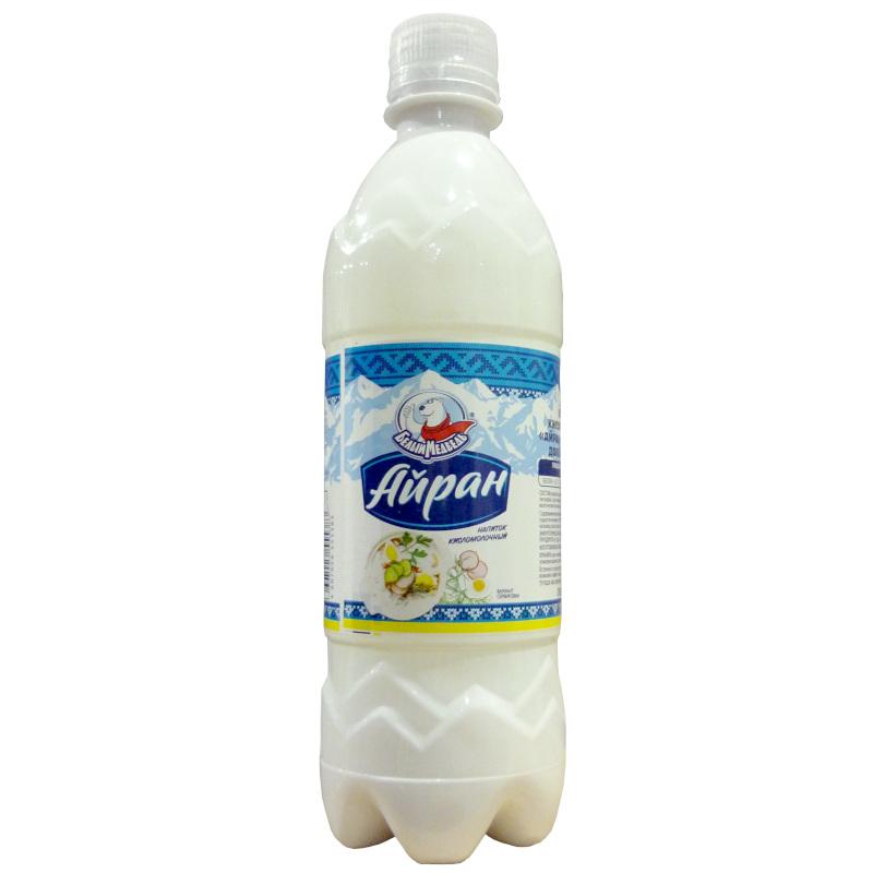 Напиток кисломолочный Айран Белый Медведь,  0, 5л