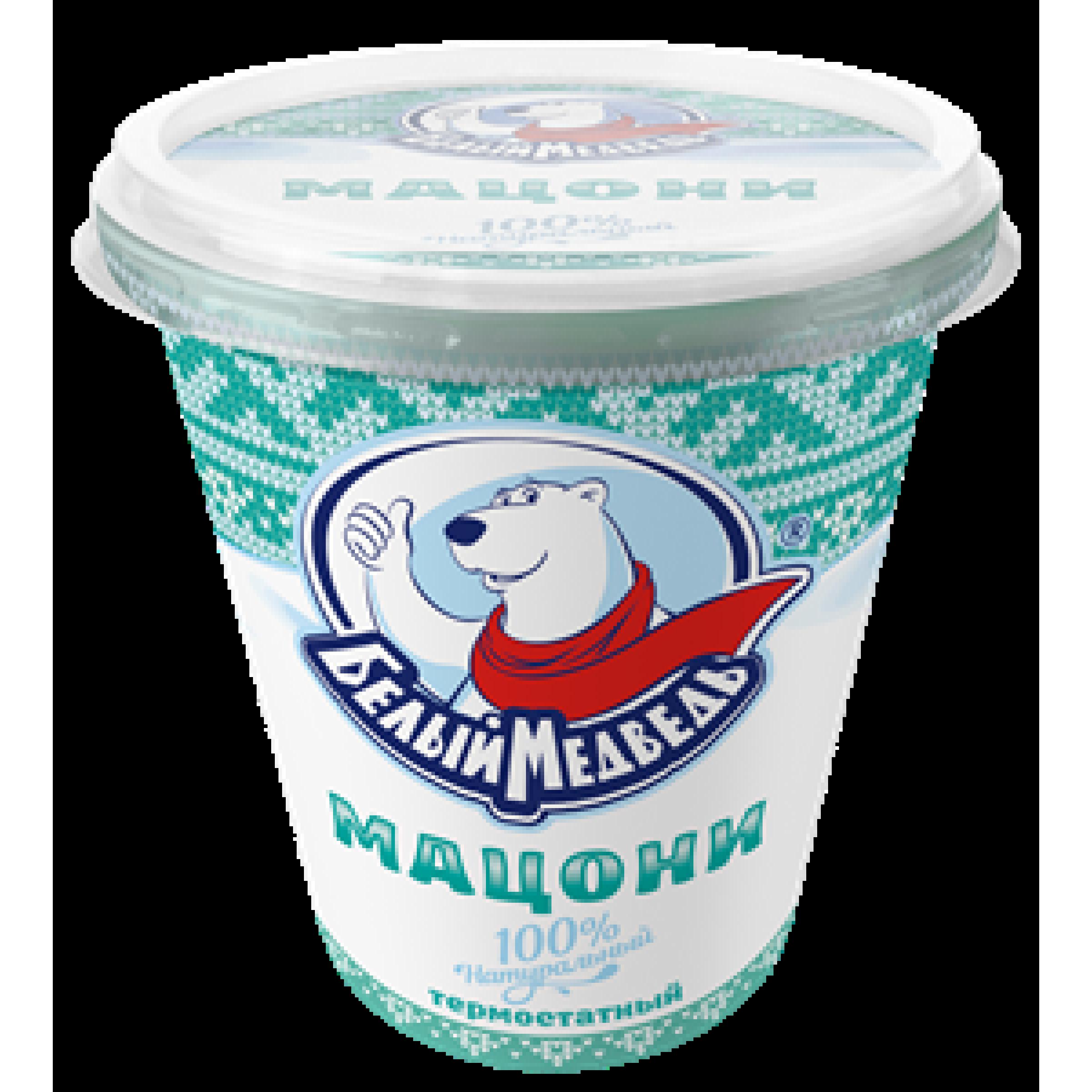 """Мацони """"Белый Медведь"""" 3,2%, 330 г"""