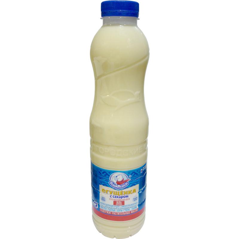 Сгущенка 8, 5% жирности Белый Медведь, 1кг