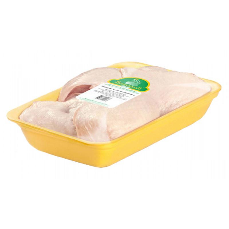 """Бедро цыпленка бройлера с кожей охлажденное """"Приосколье"""", средний вес 1кг"""