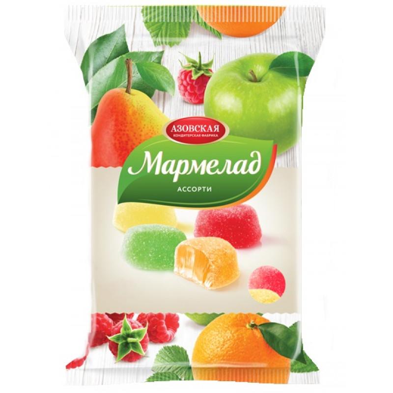 Мармелад желейный ассорти Азовская кондитерская фабрика, 300гр