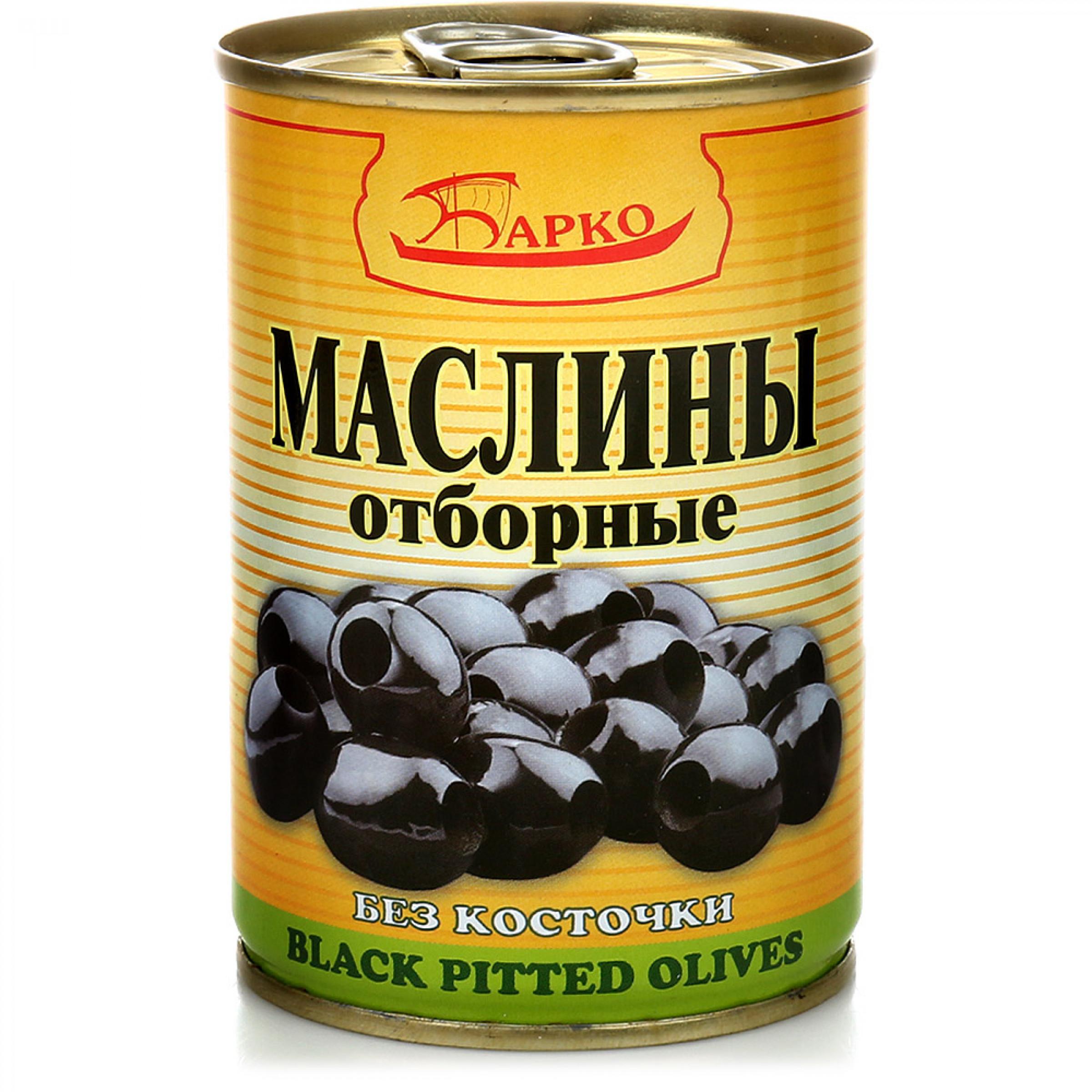 "Маслины без косточки ""БАРКО"", 280гр"