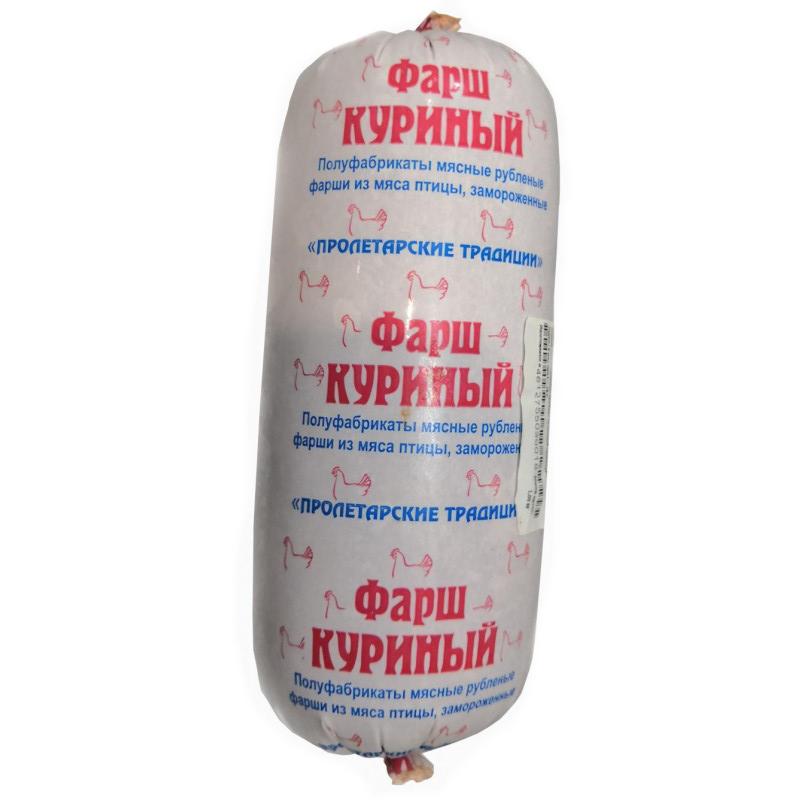 "Фарш куриный замороженный Туба ""Незнамов"", вес 1, 0кг"