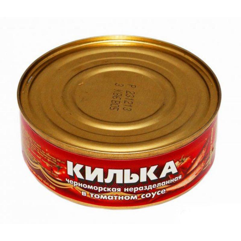 Килька в томатном соусе Крым, 240гр