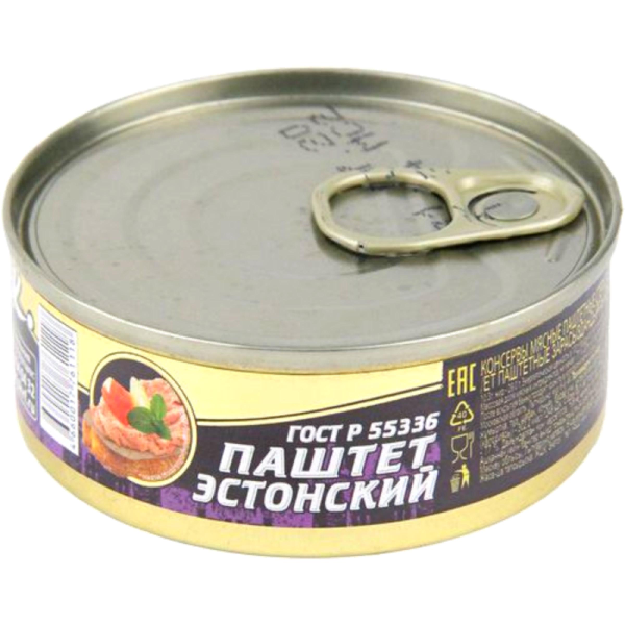 """Паштет """"Эстонский"""" ГОСТ Знаток, 100гр"""